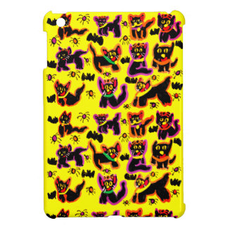 black cats party iPad mini covers