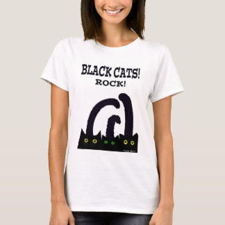 Black cats rock T-Shirt