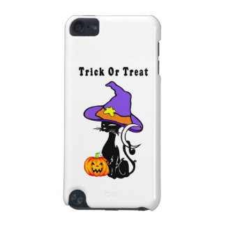 Black Cat's Trick or Treat iPod Touch (5th Generation) Covers