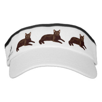 Black Cats Visor