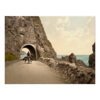 Black Cave Tunnel Co Antrim Archival Print