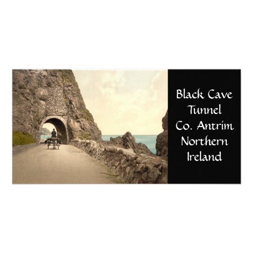 Black Cave Tunnel, County Antrim, Northern Ireland Picture Card