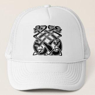 Black Celtic Dogs Trucker Hat