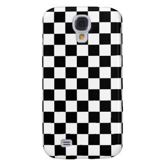 Black Checkered Galaxy S4 Case