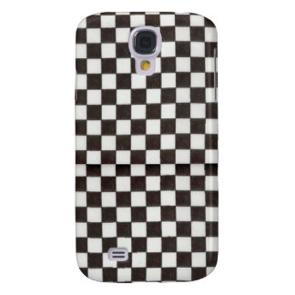 Black Checks Hard Shell Case for iPhone 3G 3GS Galaxy S4 Case