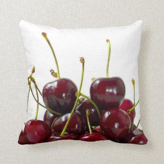 Black Cherries Pillow