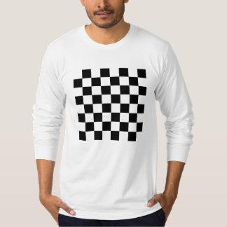 Black Chess Board Long-Sleeve T Shirt