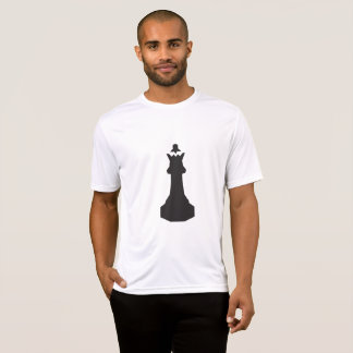 Black Chess Piece Mens Active Tee