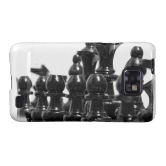 Black Chess Pieces Case Samsung Galaxy Covers