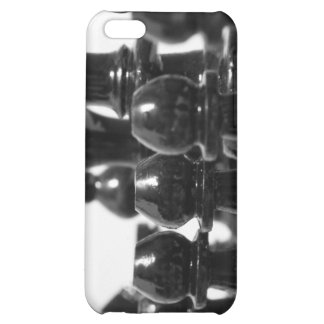 Black Chess Pieces iPhone Case iPhone 5C Cover