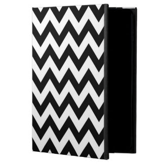 Black Chevron pattern iPad Air 2 case