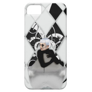 Black China Barely There iPhone 5 Case