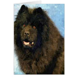 Black Chow Card