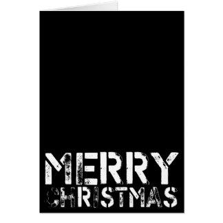 Black Christmas v4 Greeting Card
