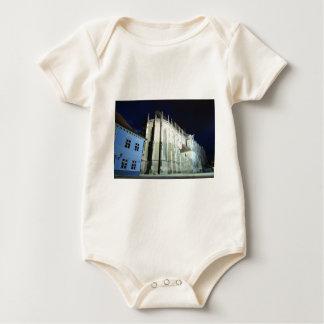 Black church in Brasov, Romania Baby Bodysuit