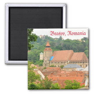 Black church in Brasov, Romania Magnet