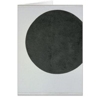 Black Circle, c.1923 Greeting Card