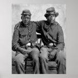 Black Civil War Soldiers, 1860s Poster