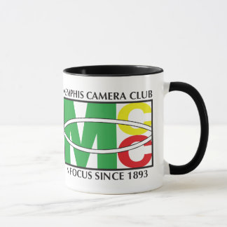Black Classic Logo 11 oz Ringer Mug