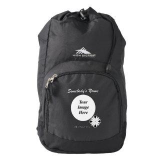 Black Clover Ribbon Template Backpack