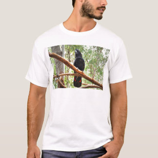 BLACK COCKATOO QUEENSLAND AUSTRALIA T-Shirt