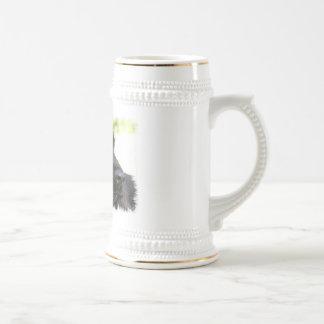 Black Cocker Spaniel Dog Beer Stein Coffee Mug