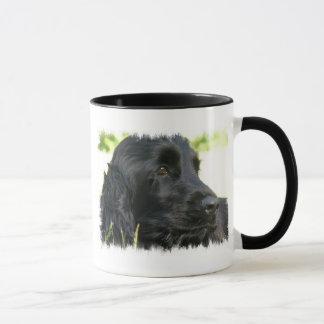 Black Cocker Spaniel Dog Coffee Mug