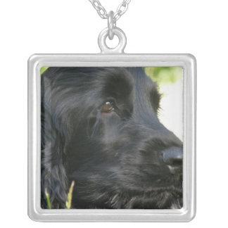 Black Cocker Spaniel Dog Necklace
