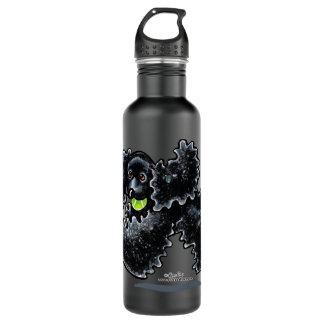 Black Cocker Spaniel Play 710 Ml Water Bottle