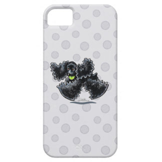 Black Cocker Spaniel Play iPhone 5 Cover