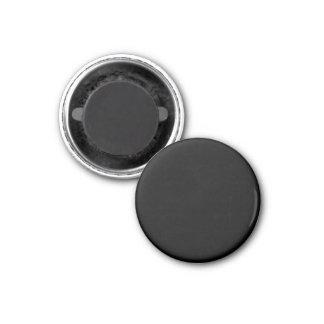 Black Color Small Round 3 Cm Round Magnet