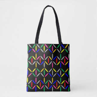 black colourful bold bag