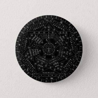 Black Complete Sigillum Dei Aemeth Pin