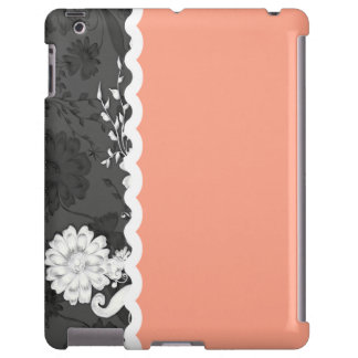 Black & Coral iPad Barely There Case