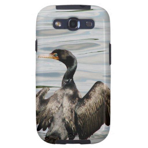 Black Cormorant Samsung Galaxy SIII Cover
