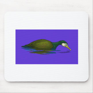 Black Cormorant On Water Mouse Pad