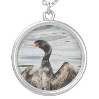 Black Cormorant Silver Plated Necklace