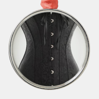 Black Corset Christmas Ornament
