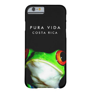 Black Costa Rica Tree Frog iPhone Case