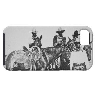 Black Cowboys at Bonham, Texas, c.1890 (b/w photo) Tough iPhone 5 Case