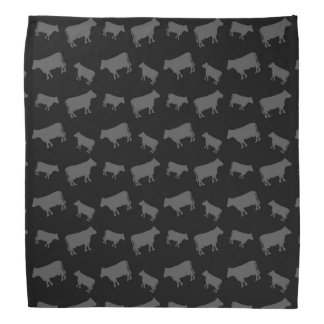 Black cows head kerchiefs