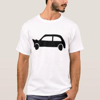 black crash car icon T-Shirt