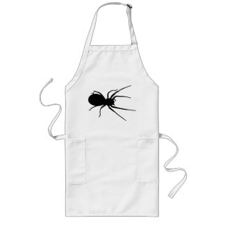 Black Creepy Spider Apron