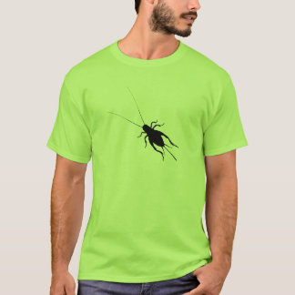 Black Cricket T-Shirt