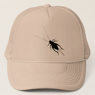 Black Cricket Trucker Hat