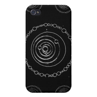 Black Crop Circle iPhone Case Case For iPhone 4