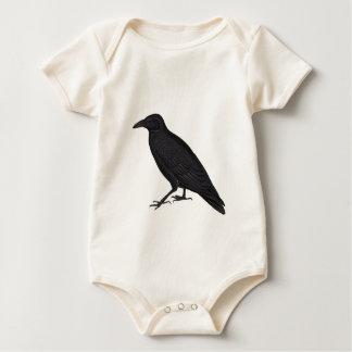 Black Crow Baby Bodysuit