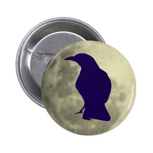 Black Crow Button