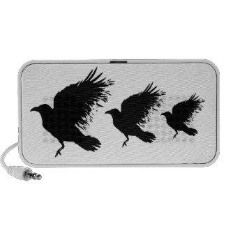 Black crow - custom speakers
