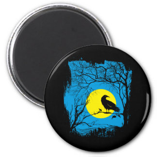 Black Crow Magnet